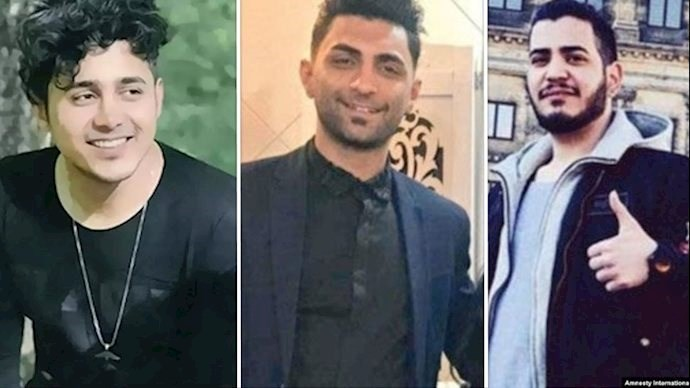 Three peaceful protesters face death sentence through Iran's judicial system