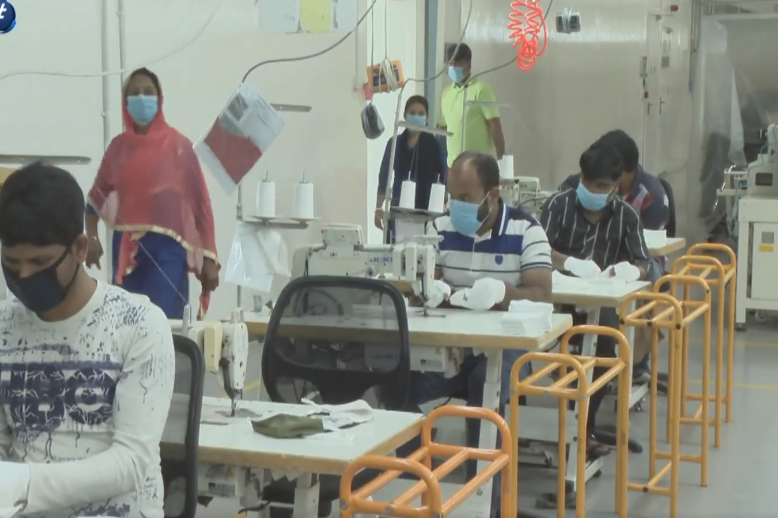 Discriminatory policies and lack of safety measures make workers easy prey for coronavirus in Jordan's Sidney factory