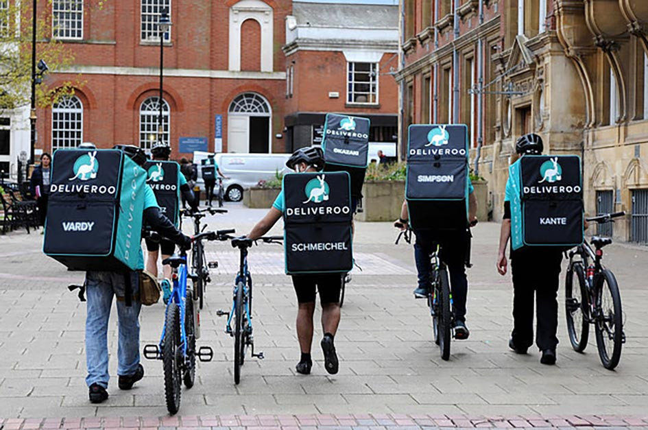 UK food delivery companies fail to protect their workers as they enter the stock market